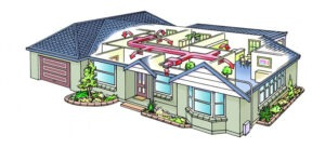 ducted cooling and heating